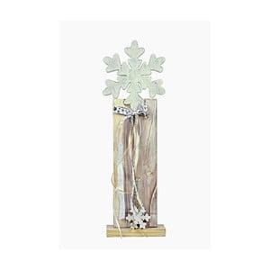 Dřevěná dekorace Ego Dekor Snow, výška53cm