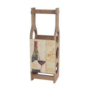 Dřevěný stojan na víno Mendler Shabby Wine