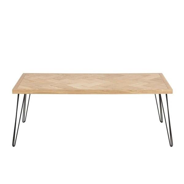 Černo-hnědý konferenční stolek Actona Maidstone
