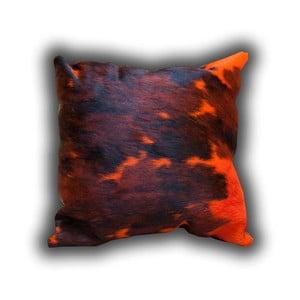 Polštář z pravé kůže Pipsa Dyed, 45x45cm