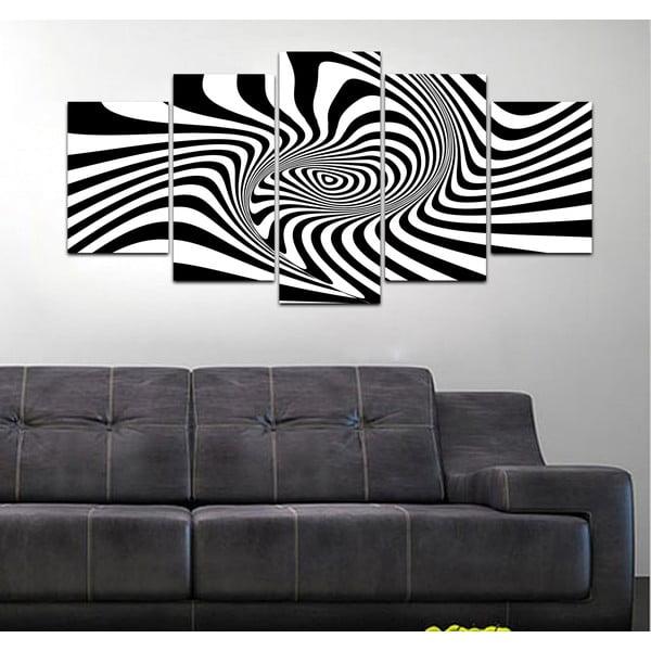 Vícedílný obraz Black&White no. 56, 100x50 cm