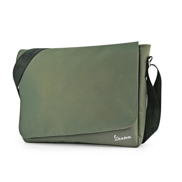 Taška přes rameno Vespa Messenger Green