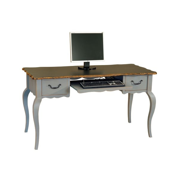 PC stůl se dvěma zásuvkami Transilvania