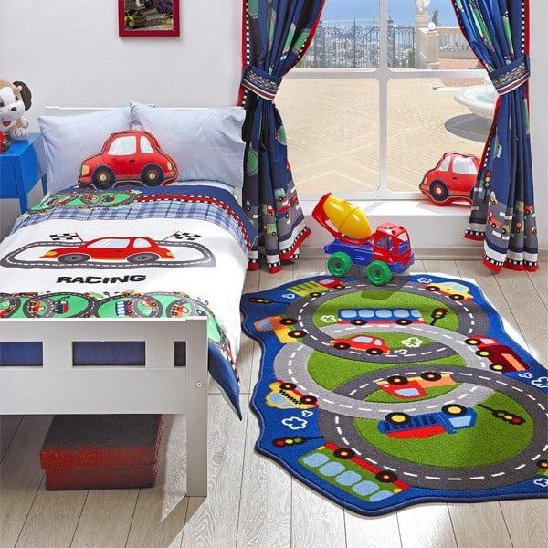 Dětský koberec Circle Track, 100x165 cm