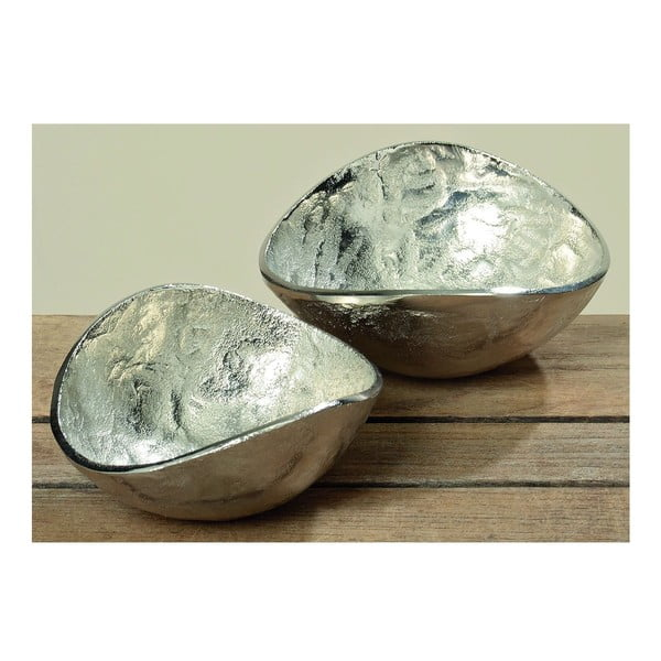 Sada 2 misek Deco Silver
