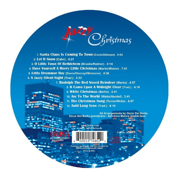 """Vánoční CD """"Jazzy Christmas"""""""