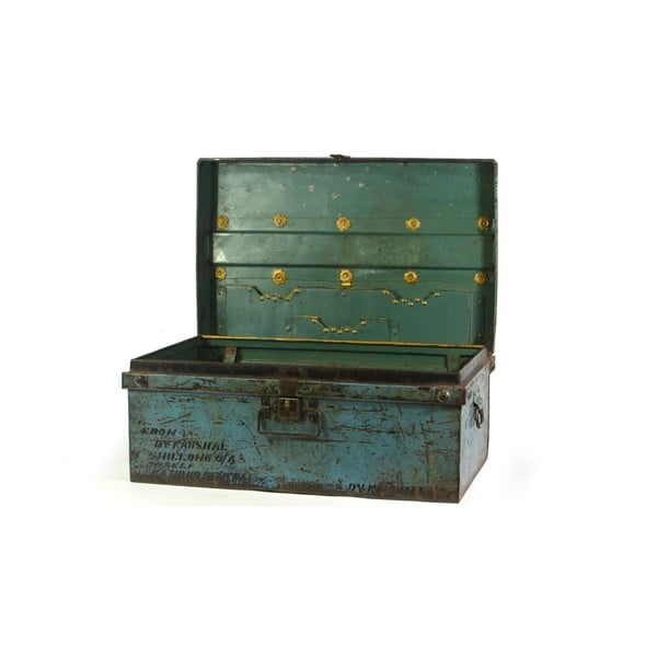 Kufr Orient 45x74 cm, modrý