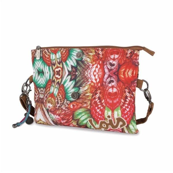 Barevná kabelka Lois, 30 x 23 cm
