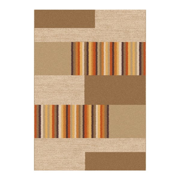 Boras Beige barna-bézs szőnyeg, 160 x 230 cm - Universal