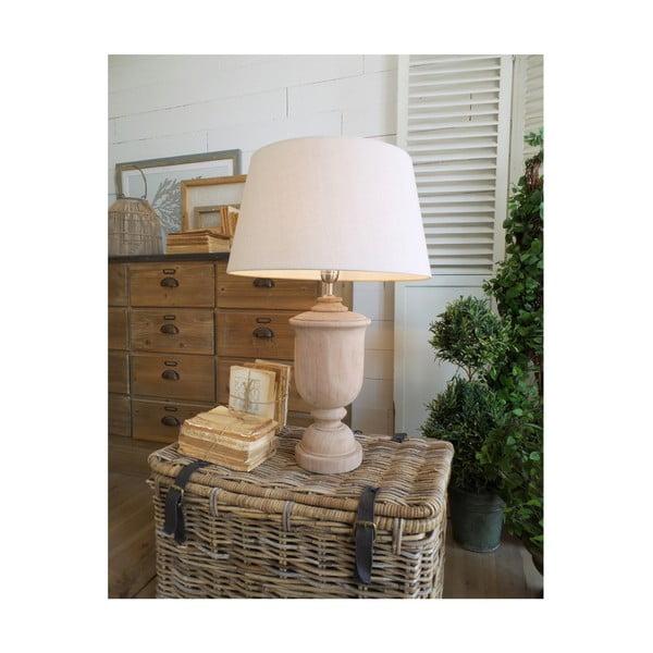 Stolní lampa z mangového dřeva Orchidea Milano Anna, výška 67cm
