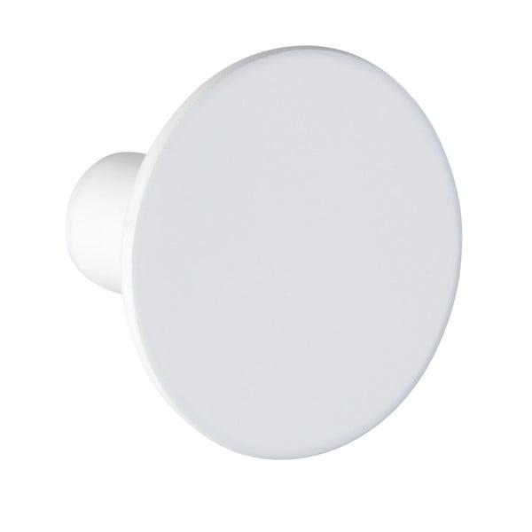 Cârlig de perete Wenko Melle, ⌀5cm, alb
