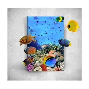 Nástěnný 3D obraz Mosticx Under The Water, 40 x 60 cm