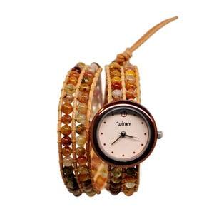 Korálkové hodinky Double, Tequilla Sunrise