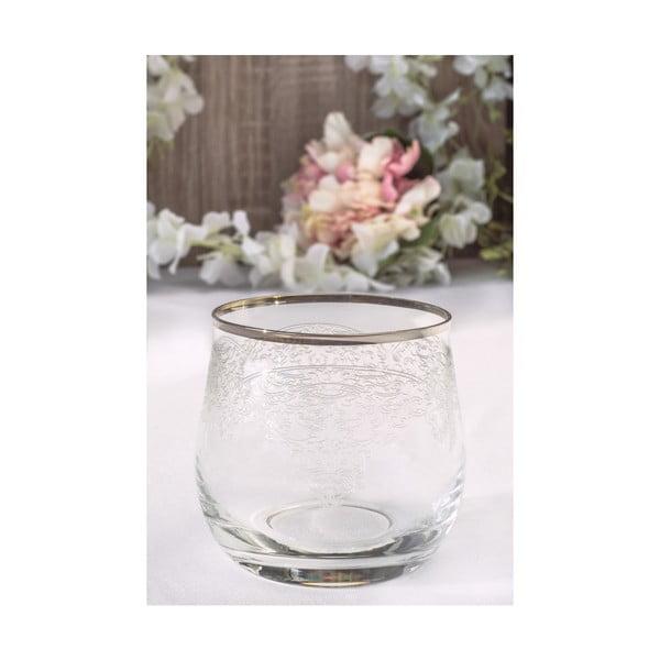 Sada 6 skleněných skleniček Agatha