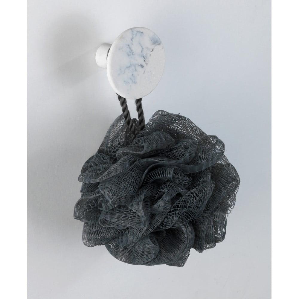 Produktové foto Nástěnný háček s mramorovým dekorem Wenko Melle, ⌀5cm