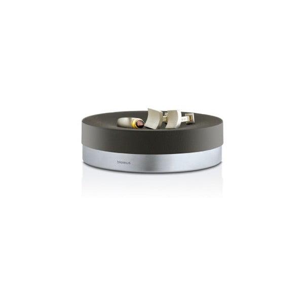 Čierna miska na šperky či mydlo Blomus Ara