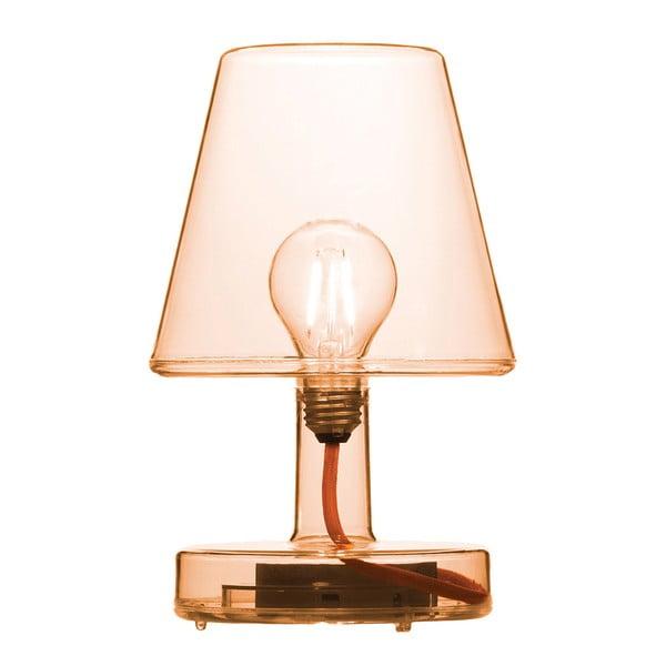 Oranžová stolní lampa Fatboy Transloetje