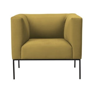 Žluté křeslo Windsor & Co Sofas Neptune