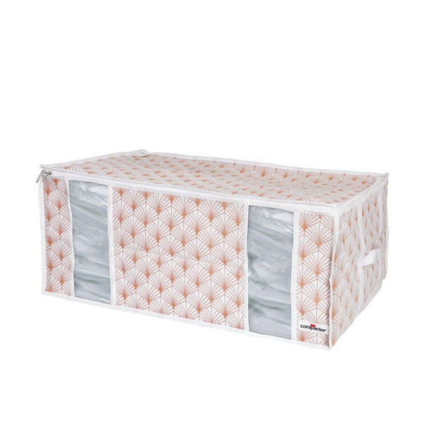 Ružový vakuový úložný box na oblečenie Compactor Signature Blush 3D Vacuum Bag, 210 l
