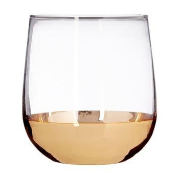 Set 4 pahare din sticlă suflată manual Premier Housewares Horizon, 3,75 dl imagine
