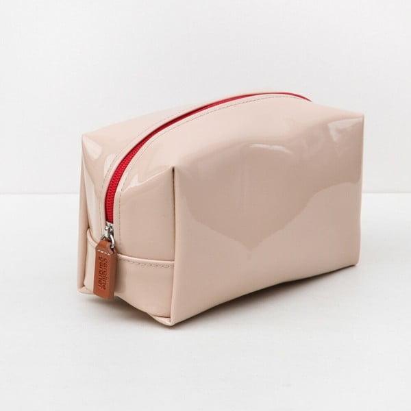 Růžová kosmetická taška Caroline Gardner Cube
