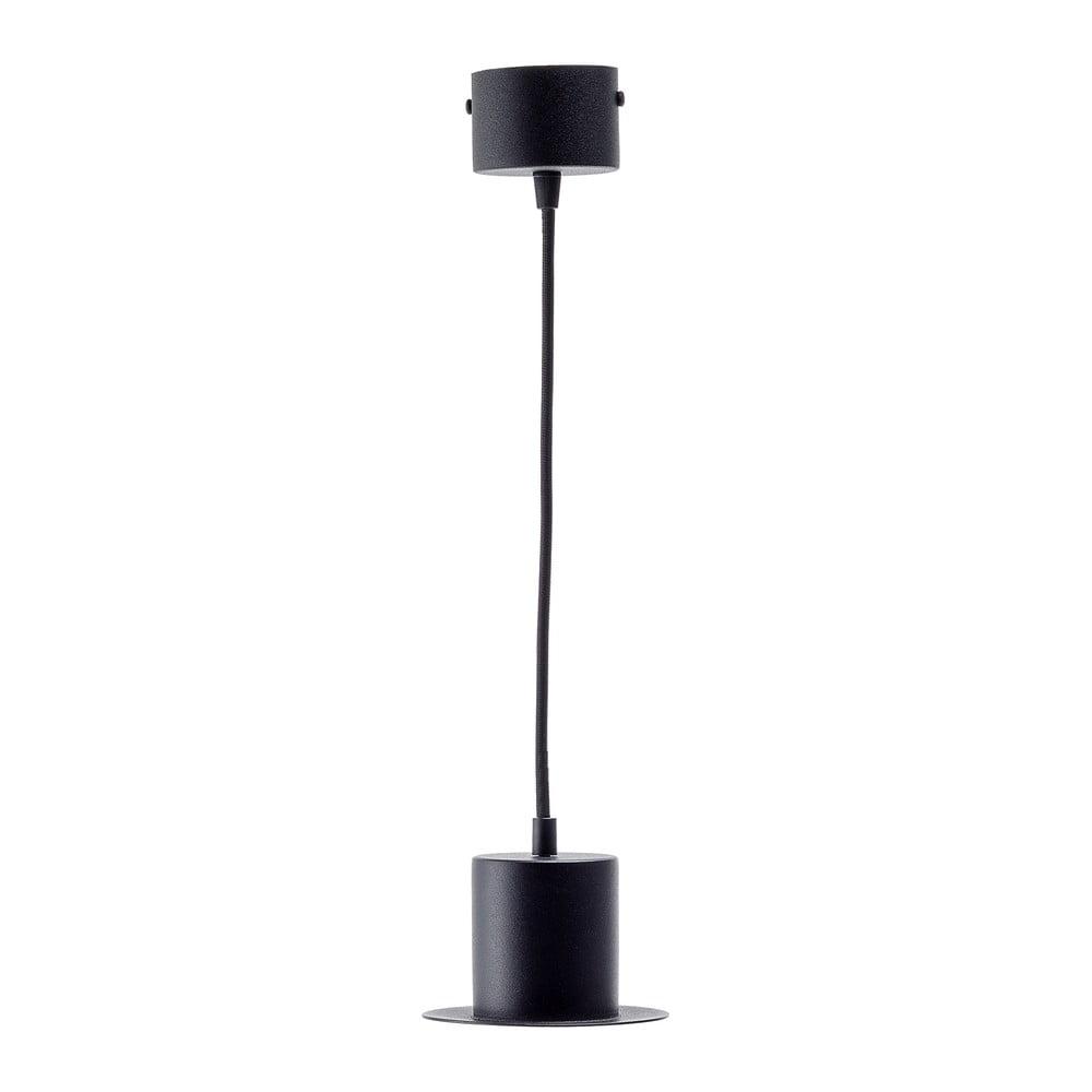 Černé závěsné svítidlo EMKO Hat Cylinder