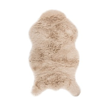 Blană artificială Tiseco Home Studio Sheepskin, 80 x 150 cm, bej de la Tiseco Home Studio