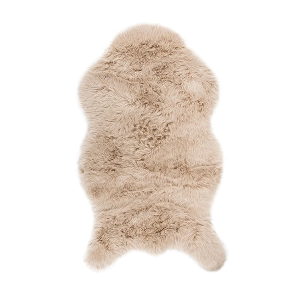 Blană artificială Tiseco Home Studio Sheepskin, 80 x 150 cm, bej
