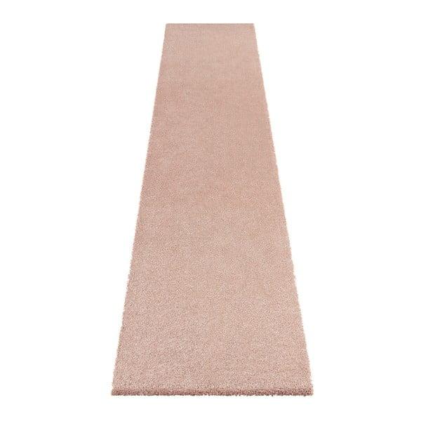 Růžový běhoun Elle Decor Passion Orly, 80 x 200 cm