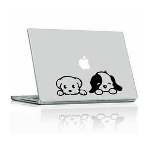 Samolepka Cute Little Puppies