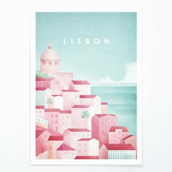 Poster Travelposter Lisbon, A2 imagine