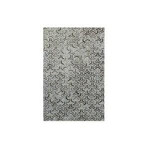 Covor din piele naturală Bolzano Grey, 140x200cm