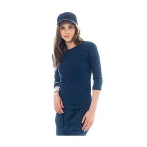 Tmavě modré bavlněné tričko Lull Loungewear Genes, vel.XS