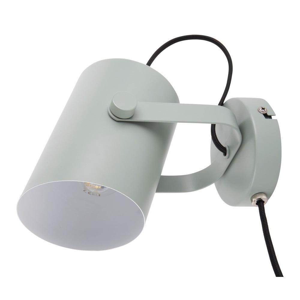 Zelená nástěnná lampa Leitmotiv Snazzy