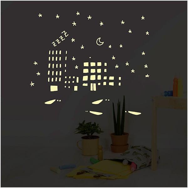 Svítící samolepka Chispum City Lights