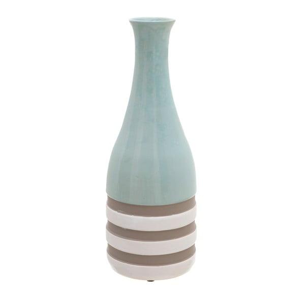 Modrá keramická váza InArt Alazne