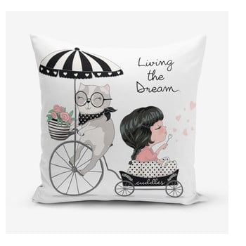 Față de pernă Minimalist Cushion Covers Living Dream, 45 x 45 cm de la Minimalist Cushion Covers