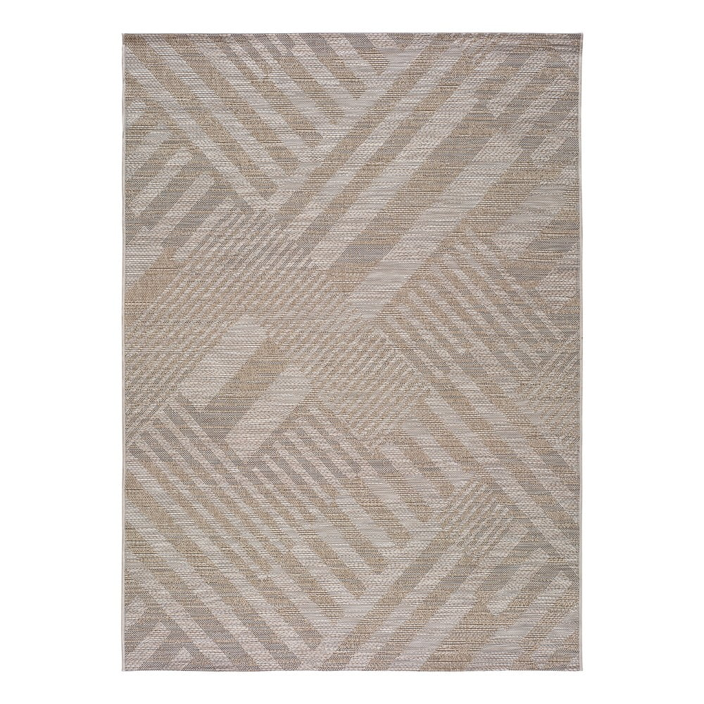 Béžový venkovní koberec Universal Devi, 120 x 170 cm