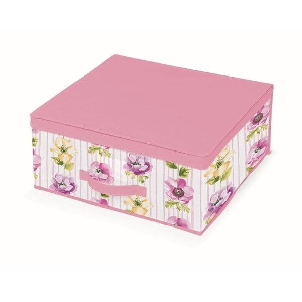Růžový úložný box Cosatto Beauty, šířka45cm