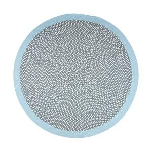 Dětský modrý koberec Nattiot Brenda, Ø120cm