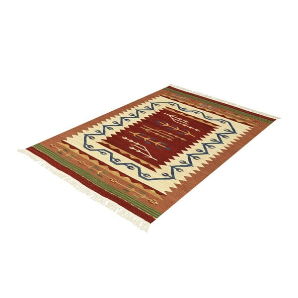 Vlněný koberec Kilim Classic AK04 Mix, 95x155 cm