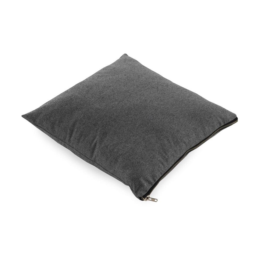 Tmavě šedý polštář Geese Soft, 45 x 45 cm