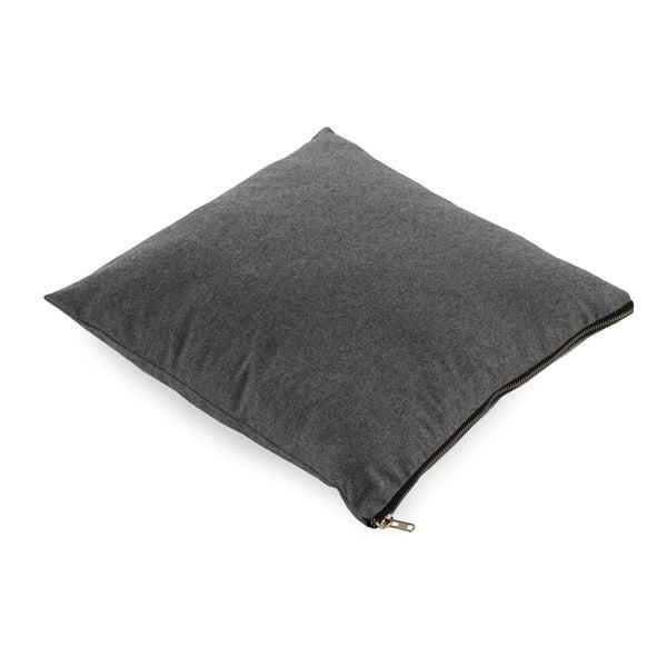 Tmavě šedý polštář Geese Soft, 45x45cm