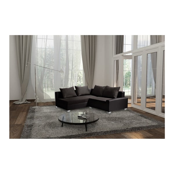 Hnědá sedačka Interieur De Famille Paris Aventure, levý roh
