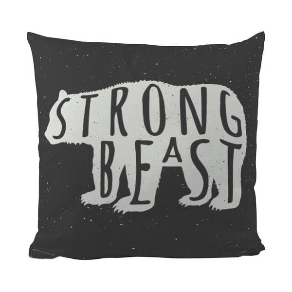 Polštářek Black Shake Strong Beast, 50x50 cm