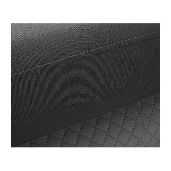 Tmavě šedá trojmístná pohovka Scandi by Stella Cadente Maison Meteore