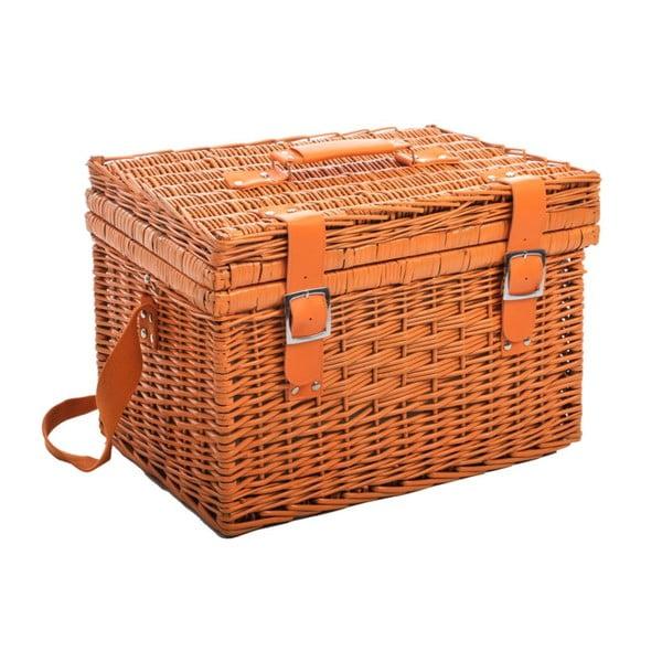 Piknikový koš Picnic Orange, 46x3x22 cm