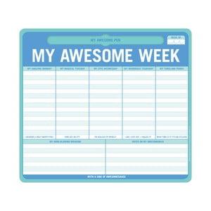 Týdenní zápisník My Awesome Week