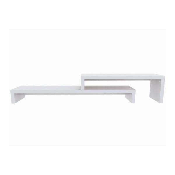 Bílý variabilní stolek TemaHome Cliff