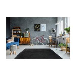 Tmavě šedý ručně vyšívaný koberec Arte Espina Rabbit 100, 180x280cm